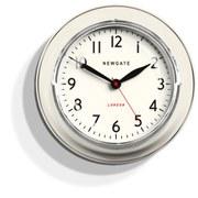 Newgate Cookhouse Clock - Linen White