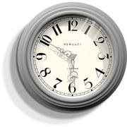 Newgate Dormitory Clock - Grey