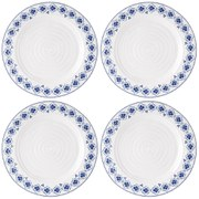 Sophie Conran for Portmeirion Dinner Plate - Eliza - White (Set of 4)