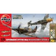 Airfix Supermarine Spitfire Mk1a Messerschmitt BF109E-4