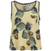Vero Moda Women's Pineapple Print Vest Top - French Vanilla
