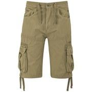 Crosshatch Men's Oprah Twill Cargo Shorts - Tobacco