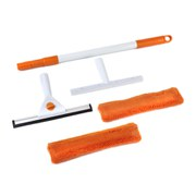 Beldray 5 Piece Window Cleaning Set - Orange/White