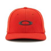 Oakley Men's Silicon Oakley Cap 2.0 - Red