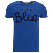 Scotch & Soda Men's Amsterdam Blauw Crew Neck T-Shirt - Blue