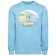 Jack & Jones Men's Originals Mike Crew Neck Sweatshirt - Blue Moon
