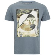 Animal Men's Lookout Graphic T-Shirt - Steel Blue Marl