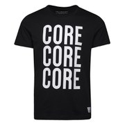 Jack & Jones Men's Core Fly T-Shirt - Black and White