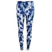 Myprotein Blue Geometric Print Leggings, Multi (USA)