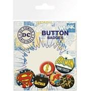DC Comics Retro - Badge Pack