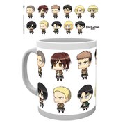 Attack on Titan All Chimis - Mug