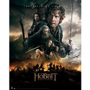 The Hobbit Battle of the Five Armies Fire - Mini Poster - 40 x 50cm