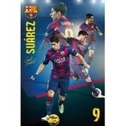 Barcelona Suarez Collage 14/15 - Maxi Poster - 61 x 91.5cm