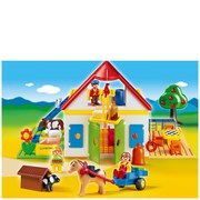 Playmobil 1.2.3 Large Farm (6750)