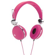 Polaroid Headphones with 4GB MP3 Player Bundle - Pink