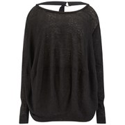 Vivienne Westwood Anglomania Women's Pack Linen Jersey Top - Black