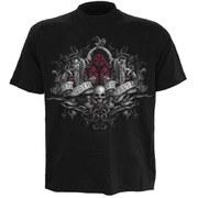 Spiral Men's IN GOTH WE TRUST T-Shirt - Black