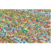 Where's Wally Jurassic Games - Maxi Poster - 61 x 91.5cm