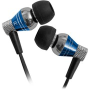 JLab - Jbuds Pro Premium Metal Earphones with Mic - Cobalt Blue