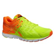 Asics Men's Gel Zaraca 3 Trainers - Flash Yellow/Flash Orange/Black