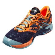 Asics Men's Gel Noosa Tri 10 Triathlon Running Shoes - Aqua Blue/Navy/Flash Orange