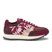Markus Lupfer Women's Multi Printed Trainers - Burgundy/Multi