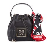 Love Moschino Women's Bucket Bag - Black
