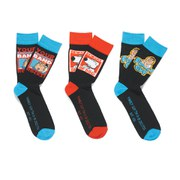 Family Guy Men's 3 Pack Socks - Black/Multi
