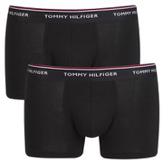 Tommy Hilfiger Men's Stretch Trunk 3-Pack - Premium Essentials Black