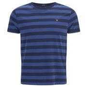 GANT Men's Barstripe T-Shirt - Blue