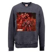 Marvel Avengers Age of Ultron Hulkbuster Sweatshirt - Dark Grey