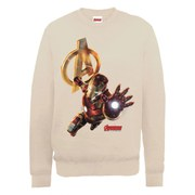Marvel Avengers Age of Ultron Iron Man Sweatshirt - Beige