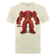 Marvel Avengers Men's Age of Ultron Hulkbuster X-Ray T-Shirt - Nude