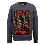Marvel Avengers Age of Ultron Join The Army Sweatshirt - Dark Grey