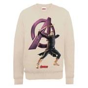 Marvel Avengers Age of Ultron Hawkeye Sweatshirt - Beige