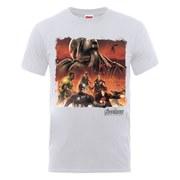 Marvel Avengers Men's Age of Ultron Team Montage T-Shirt - Ash Grey