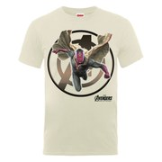 Marvel Avengers Men's Age of Ultron Vision T-Shirt - Nude