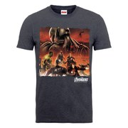 Marvel Avengers Men's Age of Ultron Team Montage T-Shirt - Dark Grey