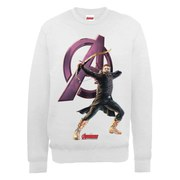 Marvel Avengers Age of Ultron Hawkeye Sweatshirt - Ash Grey