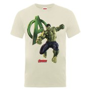Marvel Avengers Men's Age of Ultron Hulk T-Shirt - Nude