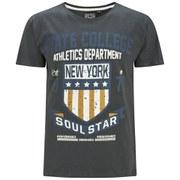 Soul Star Men's Falgone T-Shirt - Charcoal
