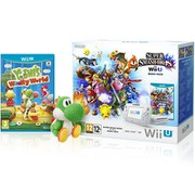 Wii U Yoshi's Woolly World+Super Smash BrosPack