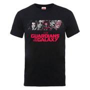 Marvel Guardians of the Galaxy Men's Team Logo T-Shirt - Black