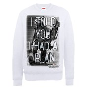 Marvel Guardians of the Galaxy I Told You I Had A Plan Sweatshirt - White