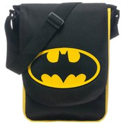 DC Comics Batman Black Classic Logo Messenger Bag