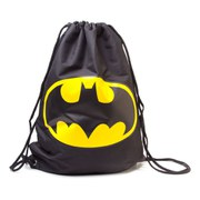 DC Comics Batman Reversible Logo Drawstring Gymbag