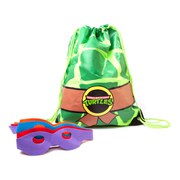 Teenage Mutant Ninja Turtles Retro Turtle Shell Masks Drawstring Gymbag