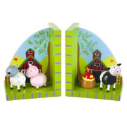 Orange Tree Toys Farm Yard Bookends