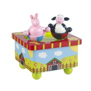 Orange Tree Toys Farm Yard Music Box