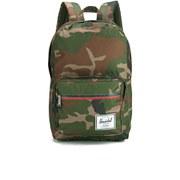 Herschel Supply Co.  Classics Pop Quiz Backpack - Woodland Camo/Navy & Red Zipper